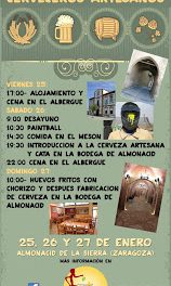 Fin de semana de la cerveza artesana (del 25 al 28 de enero)