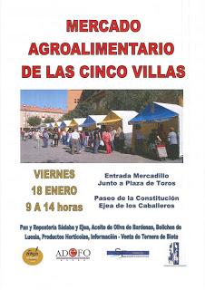 Mercado agroalimentario (viernes, 18)