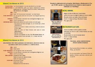 Jornadas gastronómicas de la trufa negra (del 2 al 9 de febrero)