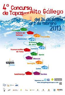 Concurso de tapas del Alto Gállego (del 24 de enero al 3 de febrero)