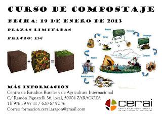 Curso de compostaje (sábado, 19 de enero)