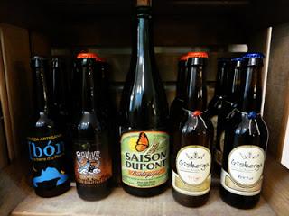Cata de cervezas ecológicas en La Huertaza (viernes, 22)