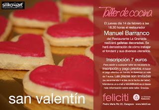 Taller de cocina en Feliciti (jueves, 14)