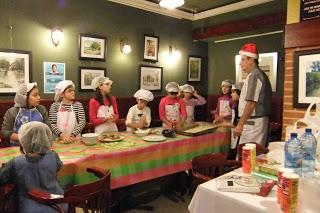 Curso de cocina para niños en María Morena (2 de marzo)