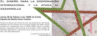 Presentación del proyecto CERAI Hacer Creativo (jueves, 28)