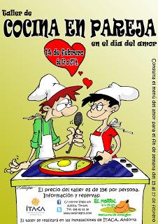 Taller de cocina en pareja para San Valentín (jueves, 14)