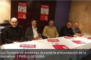 Ven de Tapas en Huesca  (jueves, hasta el 25 de abril)