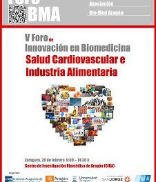 V Foro de Innovación en biomedicina salud cardiovascular e industria alimentaria (jueves, 28)