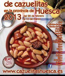 II Certamen de Cazuelitas de la provincia de Huesca (del 28 de febrero al 10 de marzo)