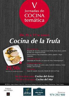 Cocina de la trufa (del 15 al 17 de marzo)