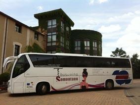 Vuelve el bus del Vino Somontano (sábado, 23)