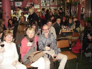 Presentación del Borsao joven en el bar El Futbol (sábado, 6)