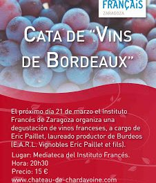 Degustación de vinos franceses (jueves, 21)