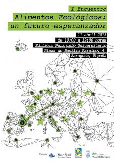 I Encuentro Alimentos ecológicos, un futuro esperanzador (jueves, 11)