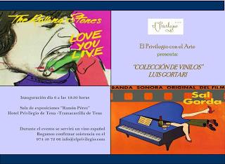 Exposición  de la colección de vinilos de Luis Gortari (hasta final de abril)