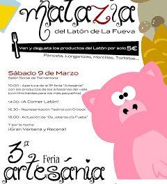 3ª Feria Artesánia (sabado, 9)