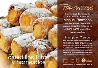 Taller de cocina en Feliciti (jueves, 7)