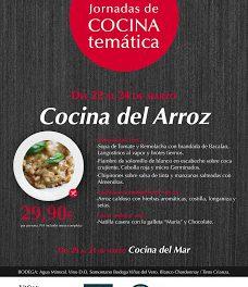 Cocina del arroz (del 22 al 24 de marzo)