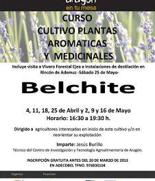 Curso de cultivo plantas  aromaticas y medicinales (del 4 de abril al 16 de mayo)