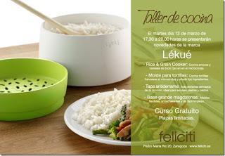 Taller de cocina en Feliciti (martes, 12)