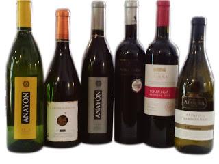 Cena cata de vinos portugueses y de Grandes Vinos y Viñedos (jueves, 21)