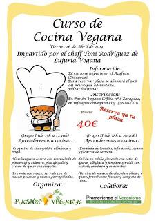 Curso de cocina vegana (viernes, 26)