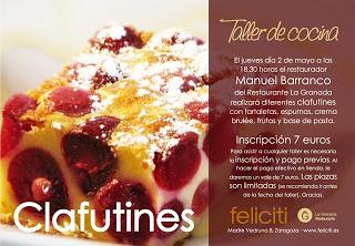 Taller de cocina en Feliciti (jueves, 2 de mayo)