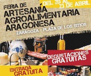 Feria de artesanía agroalimentaria aragonesa (del 20 al 23)