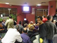 Cata de ginebras y tapa en el bar El Fútbol (lunes, 22)