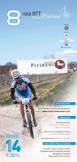 8 Ruta BTT Bodega Pirineos y cata de vinos (días 13 y 14)