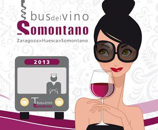 Vuelve el bus del Vino Somontano (sábado, 11)