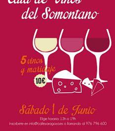 Cata y tapas de vinos DOP Somontano (sábado, 1)