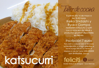 Taller de cocina en Feliciti (jueves, 16 de mayo)