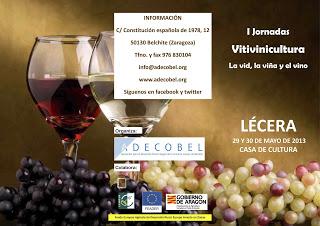 Jornadas de  vino en Lécera (29 y 30 de mayo)