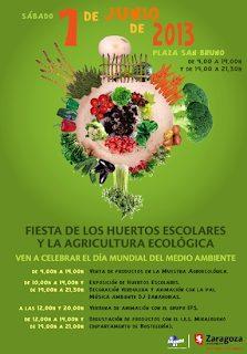 Fiesta de los huertos escolares y la agricultura ecológica (sábado, 1 de junio)