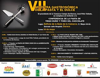 VII Muestra de la pasta y el dulce del Campo de Daroca (lunes, 20 de mayo)