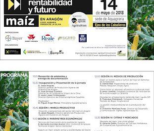 Jornada sobre la rentabilidad y futuro del maíz (martes, 14)