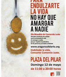 Día Mundial del comercio Justo (domingo 12 mayo)