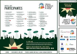 IX Edición del concurso de bocadillos de ternasco en Huesca (jueves 9 mayo)