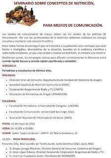 Seminario prensa y nutrición (miércoles, 15)