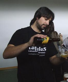 Cata de cervezas artesanas (jueves, 16)