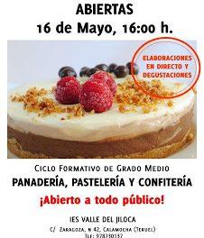 Calamocha, jornadas puertas abiertas muy dulces (16 de mayo)