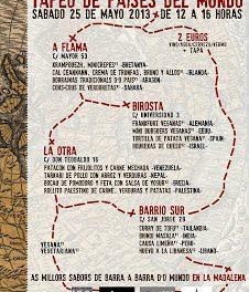 Tapas del mundo en La Madalena (sábado, 25 de mayo)