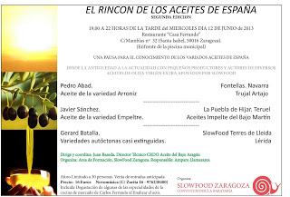 II Encuentro para conocer el aceite en España (miércoles, 12 de junio)