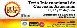 Artebeer, feria internacional de cerveza artesana (del 21 al 23 de junio)