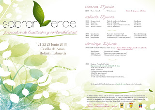 Jornadas Sobrarverde (del 21 al 23)