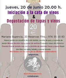 Tapas y vinos (jueves, 20)