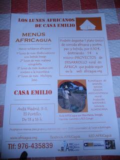 Lunes africanos en Casa Emilio (lunes)