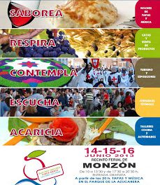 Feria con los Cinco Sentidos (del 14 a 16 de junio)