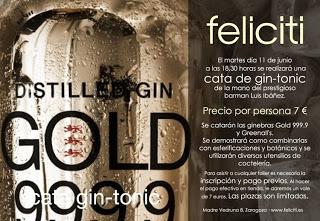 Cata de gin-tonics (martes, 11 de junio)
